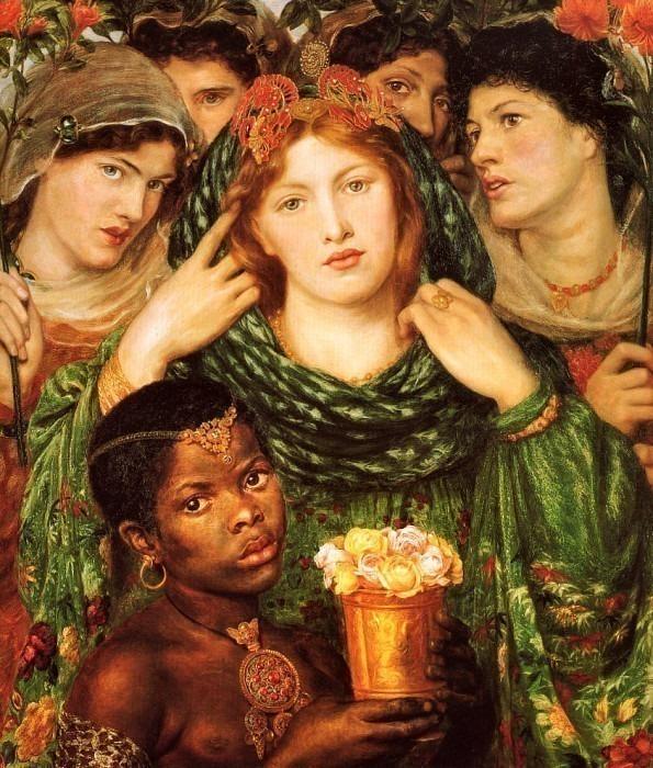 Rossetti, Dante Gabriel - The Beloved 1866 (end. Dante Gabriel Rossetti