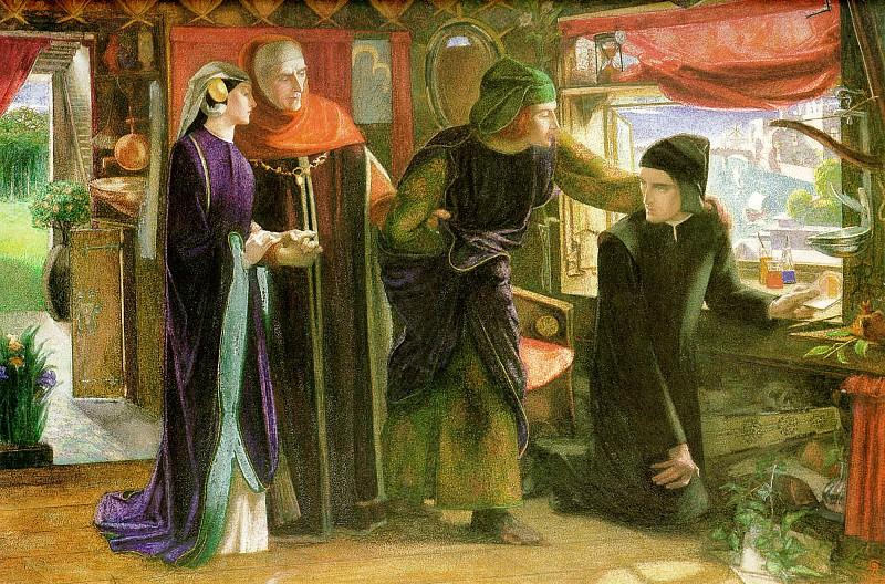 Beatrice. Dante Gabriel Rossetti