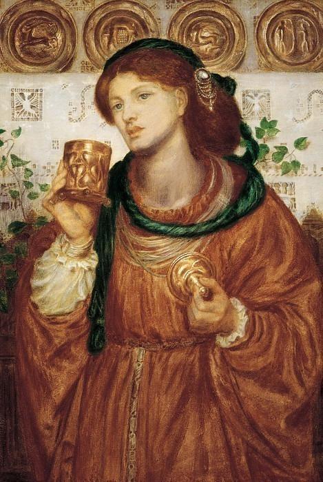 Rossetti Dante Gabriel The Loving Cup. Dante Gabriel Rossetti