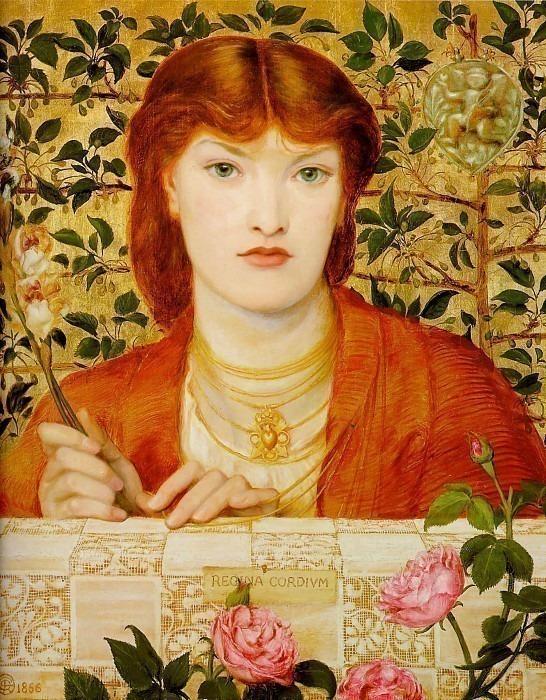 Regina Cordium. Dante Gabriel Rossetti