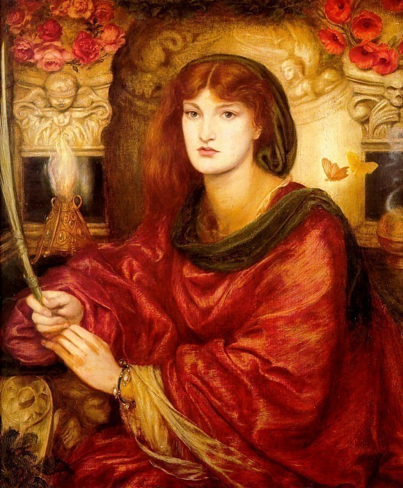 Sybilla Palmifella. Dante Gabriel Rossetti