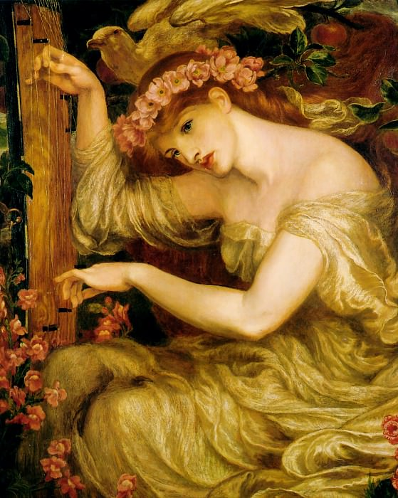 A Sea Spell. Dante Gabriel Rossetti