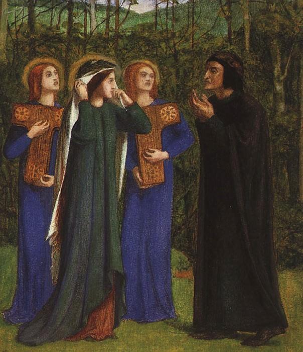 #41151. Dante Gabriel Rossetti