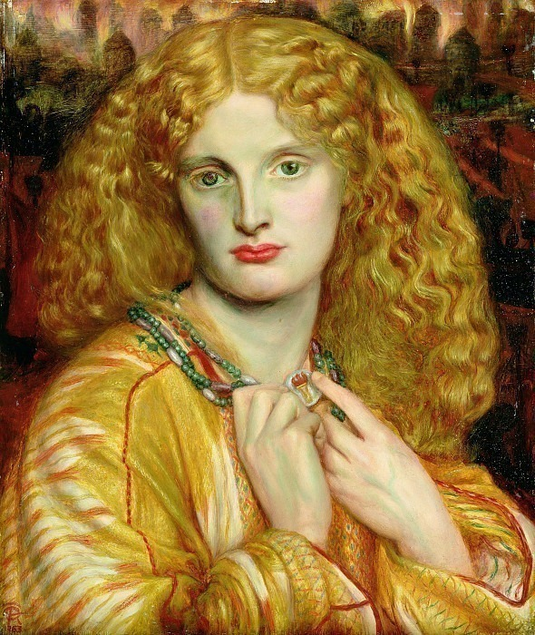 Dante Gabriel Rossetti - Helen of Troy, De. Dante Gabriel Rossetti