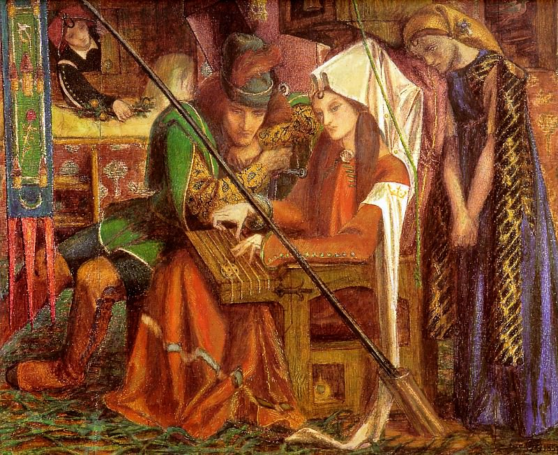 Tune of Seven Towers. Dante Gabriel Rossetti