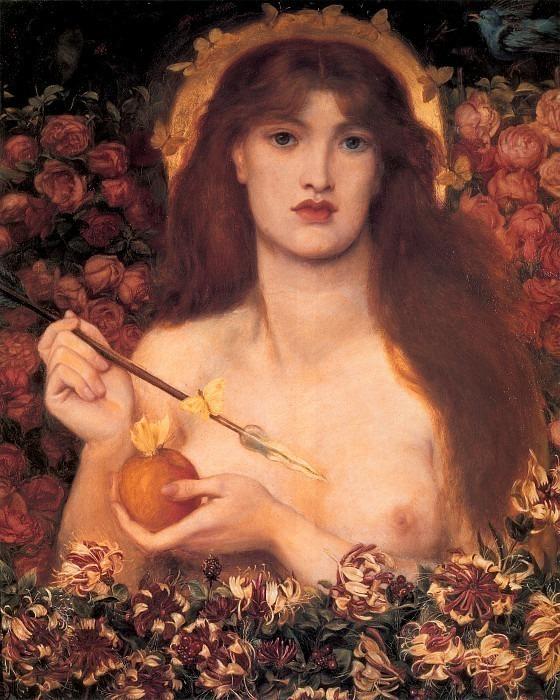 Rossetti Venus Verticordia. Dante Gabriel Rossetti