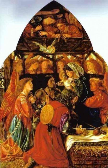 #41032. Dante Gabriel Rossetti