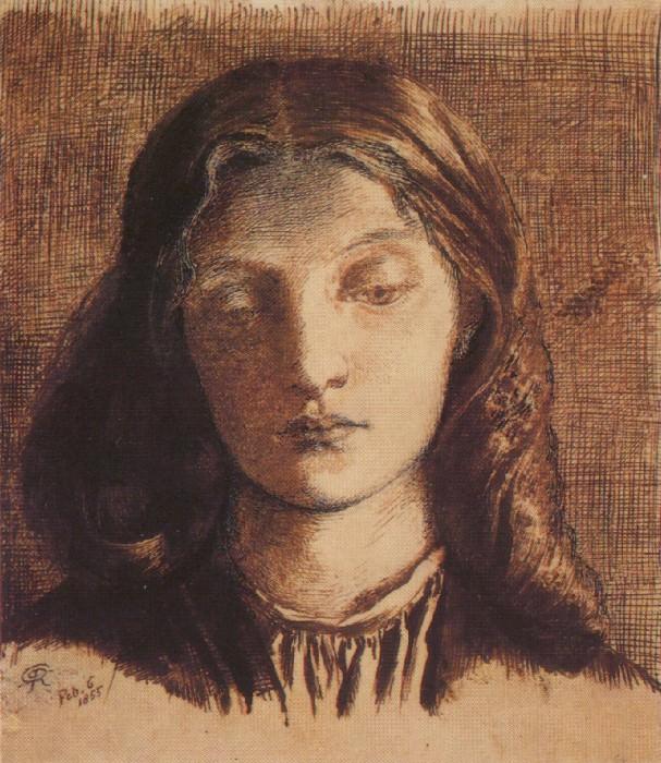 #41136. Dante Gabriel Rossetti