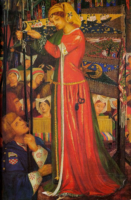 Before the Battle. Dante Gabriel Rossetti