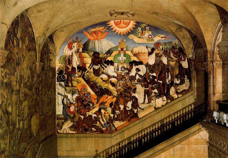 4DPictojkl. Diego Rivera