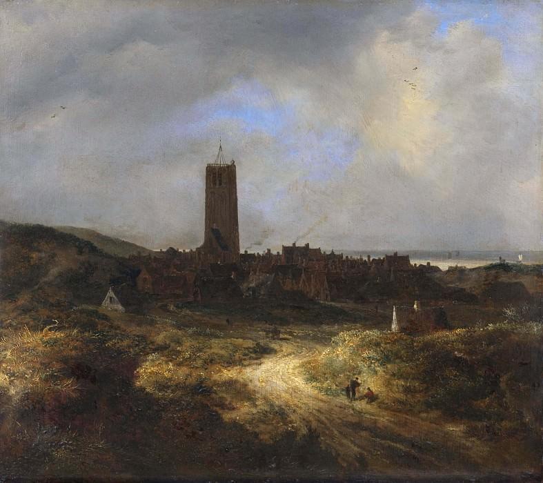 View of Egmond aan Zee. Jacob Van Ruisdael