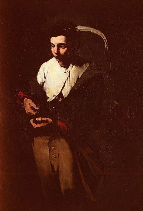 The Ministrel. Augustine Théodule Ribot
