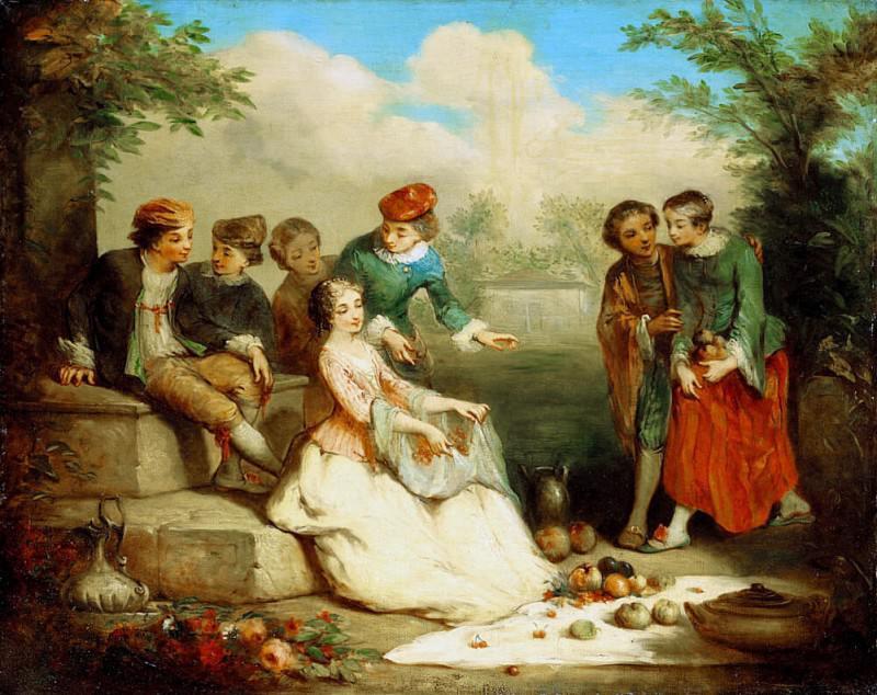 Gallant Party. Augustine Théodule Ribot