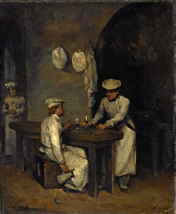 The Cooks. Augustine Théodule Ribot