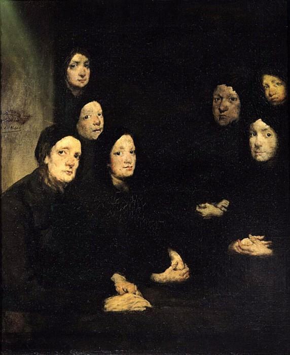 The Sermon. Augustine Théodule Ribot
