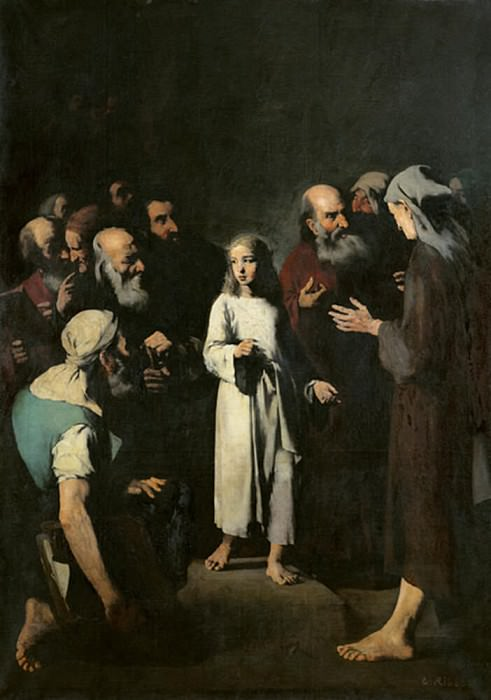 Jesus with the Doctors. Augustine Théodule Ribot