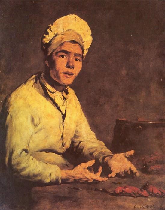 Le Cuisinier Aux Ecrevisses. Augustine Théodule Ribot