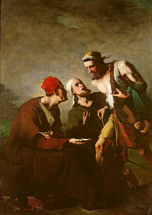 The Oyster and the Litigants. Augustine Théodule Ribot