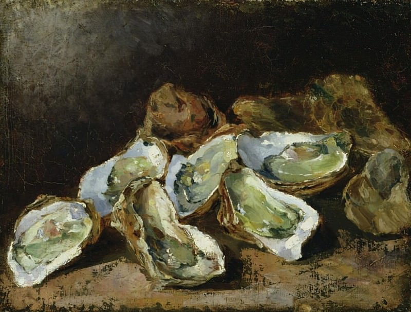 Still Life with Oysters. Augustine Théodule Ribot