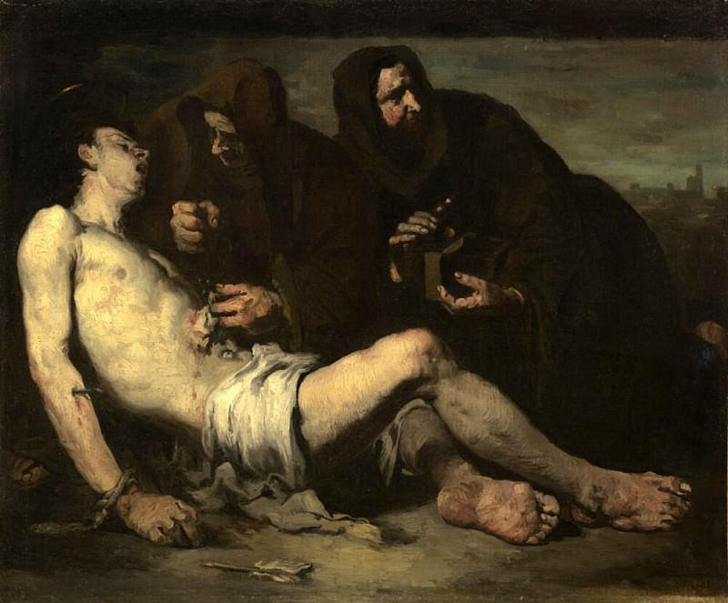 Saint Sebastian, Martyr. Augustine Théodule Ribot