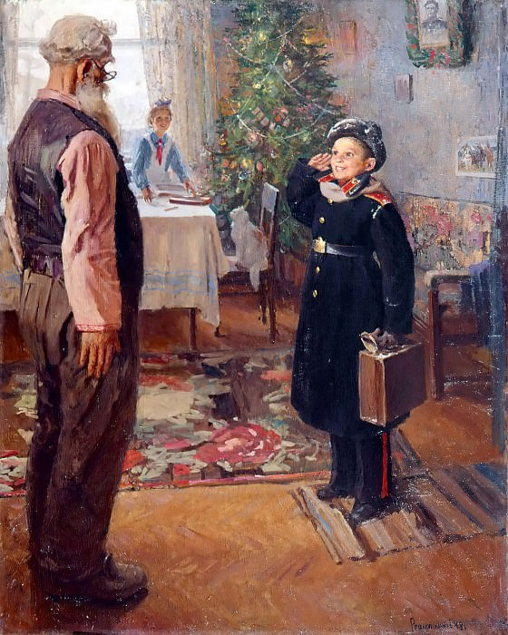 Arrived for the holidays. Fedor Reshetnikov