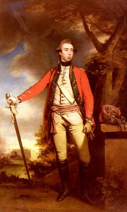 Reynolds Sir Joshua Portrait Of George Townshend Lord Ferrers. Joshua Reynolds