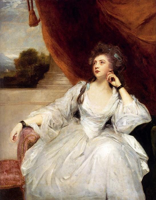 Portrait Of Mrs Stanhope. Joshua Reynolds