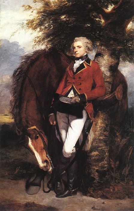 Colonel George Coussmaker EUR. Joshua Reynolds