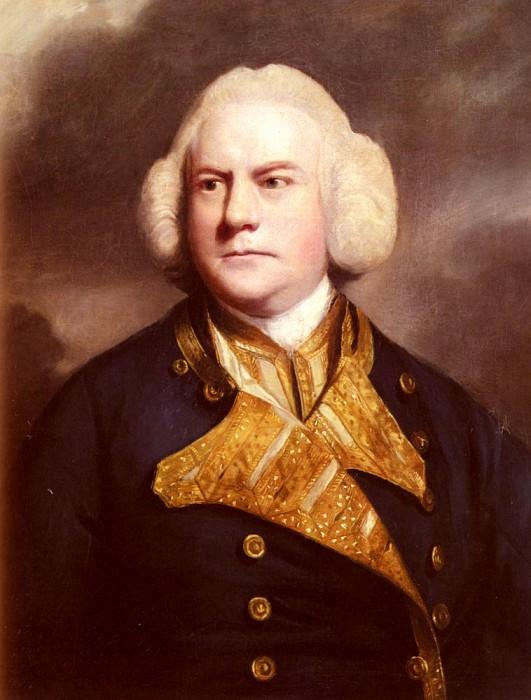 Портрет адмирала Томаса Коутса. Джошуа Рейнольдс