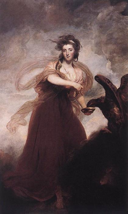Mrs Musters as Hebe EUR. Joshua Reynolds