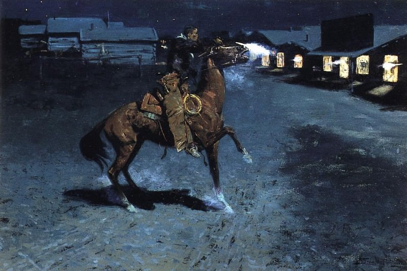 #35421. Frederick Remington