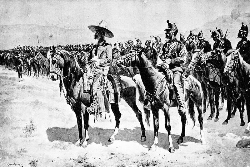 Мексиканский майор. Фредерик Ремингтон