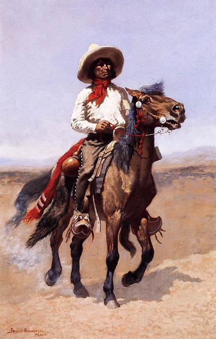 #35428. Frederick Remington
