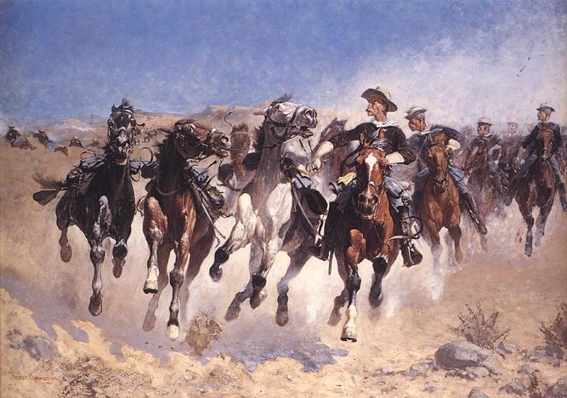 bs-ahp- Frederic Remington- Dismounted. Фредерик Ремингтон