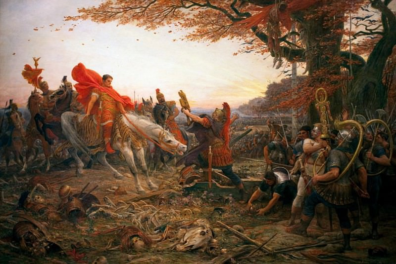 Germanicus after the Disaster of Varus. Lionel-Noël Royer