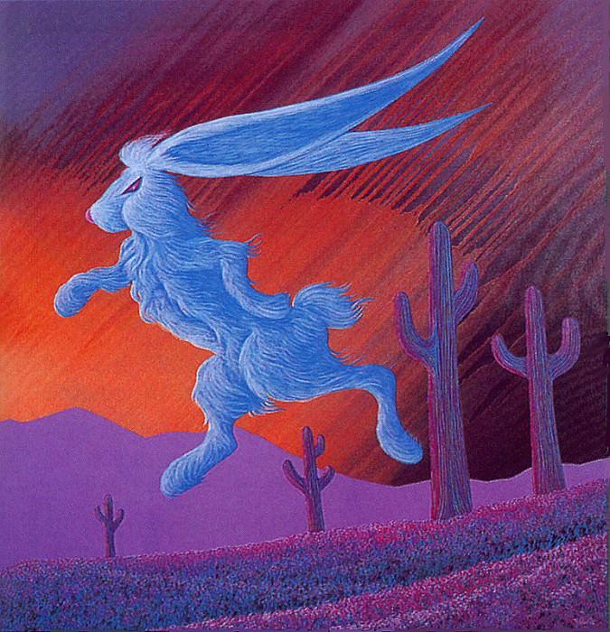 Кролик, идущий за золотом. Билл Реббит