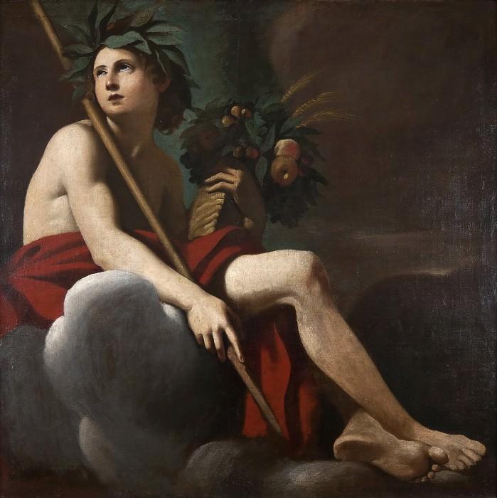 Bacchus. Giovanni Francesco Romanelli