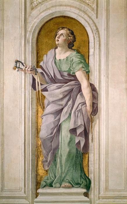 Аллегорическая фигура. Джованни Франческо Романелли