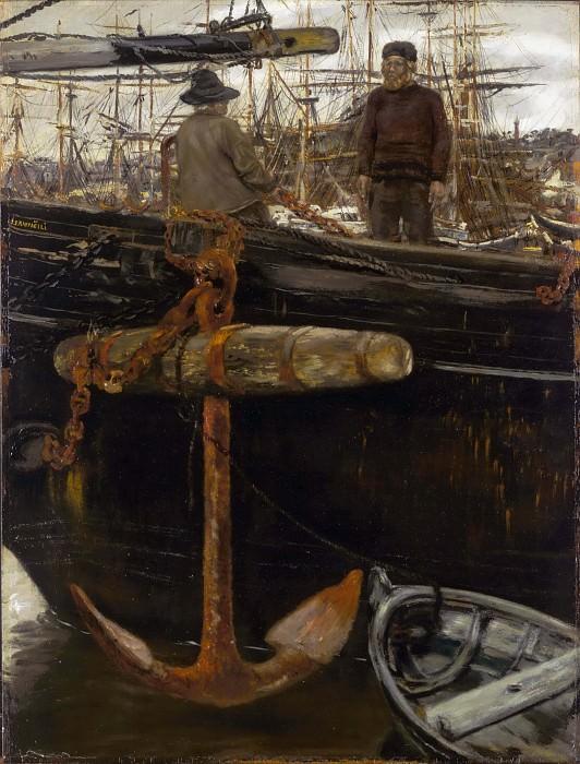 Sailors from the North. Jean-François Raffaëlli