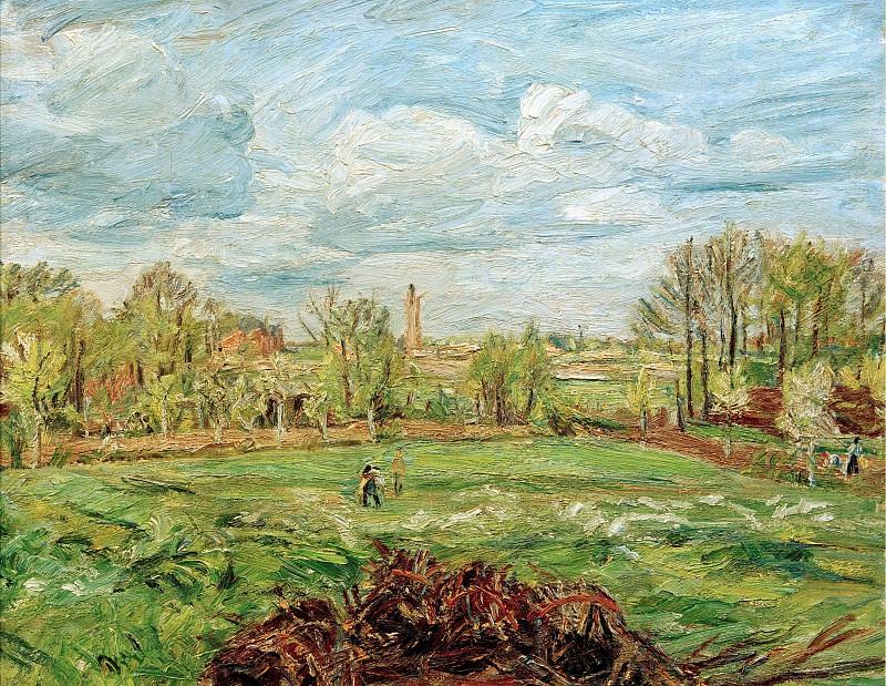 Spring landscape. Waldemar Rosler