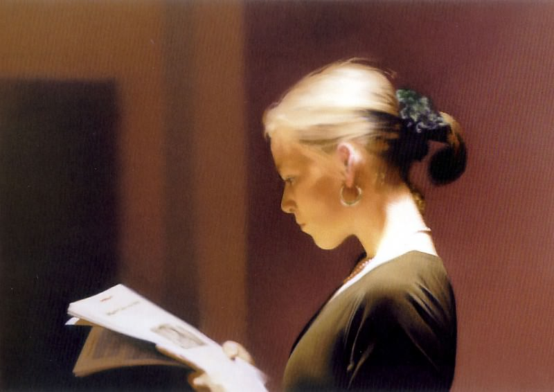 richter reading. Gerhard Richter