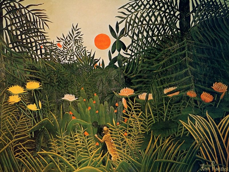 Henri Rousseau - Unknown, De. Henri Rousseau