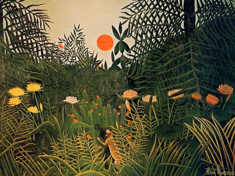 Henri Rousseau - Unknown, De. Анри Руссо