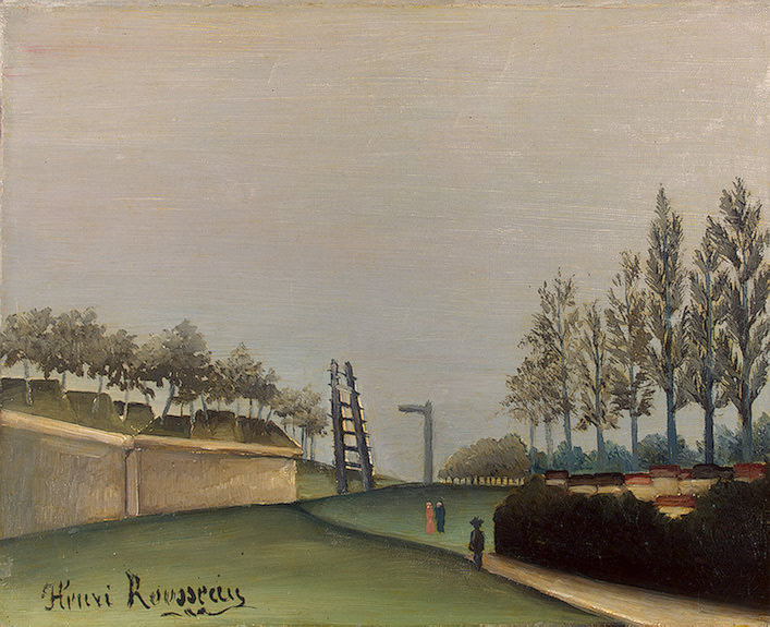 Rousseau,H. View of the Fortifications to the left of the Ga. Henri Rousseau