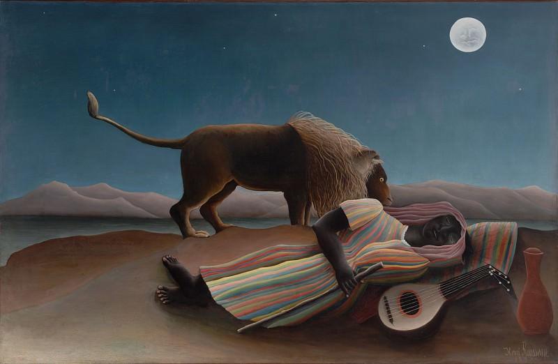 Анри Руссо - Спящая цыганка. Henri Rousseau (The Sleeping Gypsy)