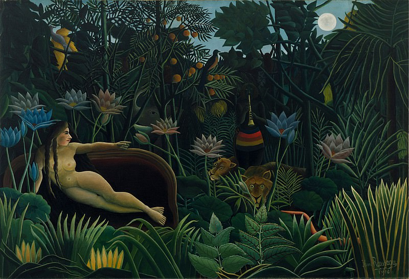 Анри Руссо - Сон , 1910, Moma, NY. Henri Rousseau (The Dream)