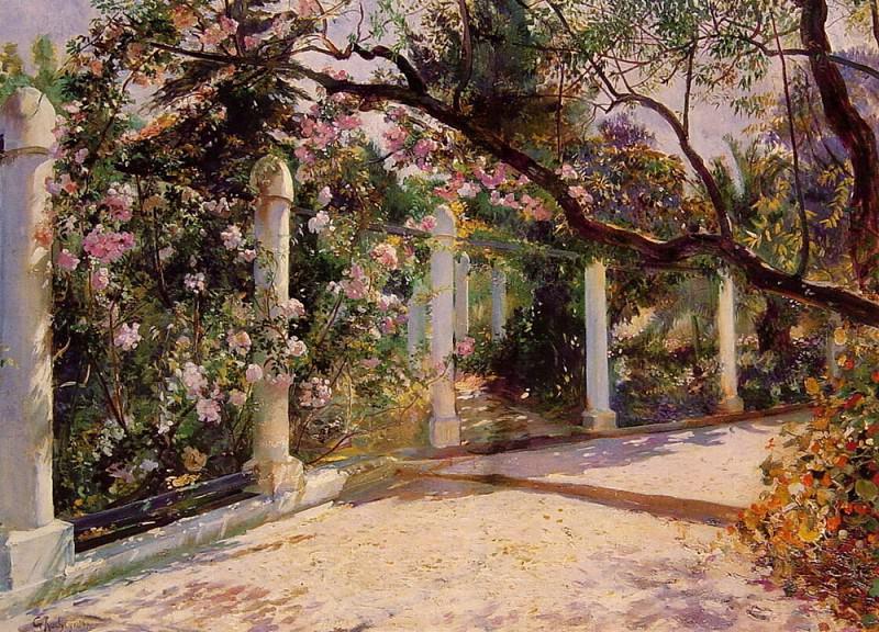 Almond Trees Algiers. Антуан Жорж Рошгросс