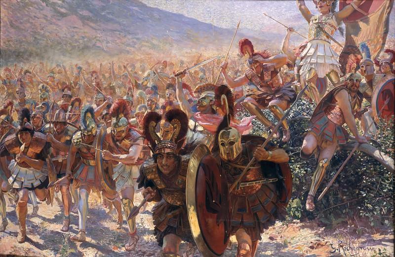 Ancient Warriors. Georges Antoine Rochegrosse