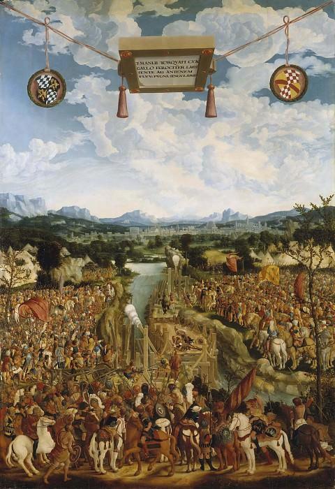 Manlius Torquatus Fighting a Gaul. Ludwig Refinger