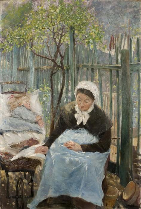Paris in the Spring. Gerda Roosval-Kallstenius
